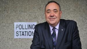 Голосование на референдуме о независимости Шотландии